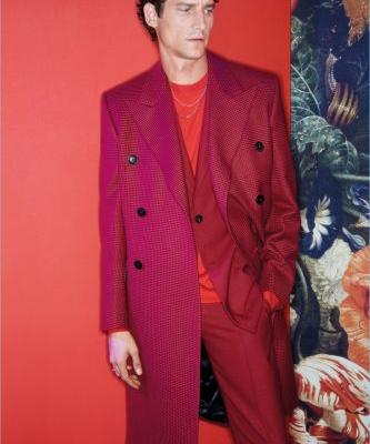 Roch Barbot & Henry Raush Embrace Rich Styles for Paul Smith Fall '18 Campaign