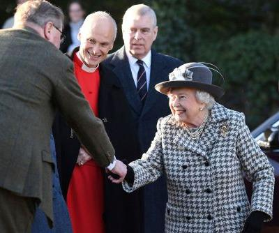 Queen Elizabeth flashes smile with Prince Andrew amid Megxit mess