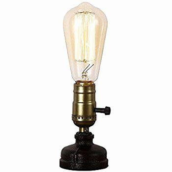 20 Beautiful Edison Bulb Desk Lamp Pictures
