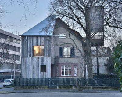 House with a Tree / Sauter von Moos