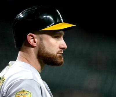 The shocking face of an A's team that is ready for the Yankees
