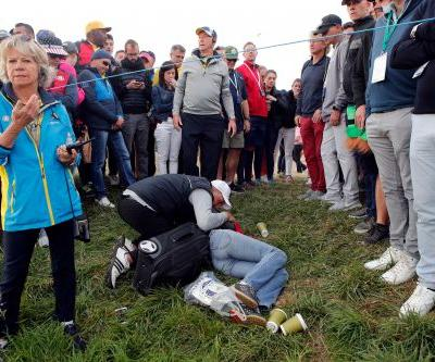 Koepka gutted over wounded fan, denies fight with Johnson