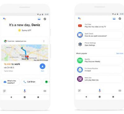 Google Assistant now serves up a visual snapshot of your day