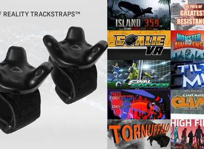 Get your body in the game - pre-order an HTC Vive tracker now for $100