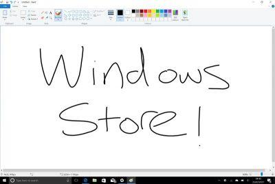 Microsoft is bringing MS Paint to the Windows Store for free