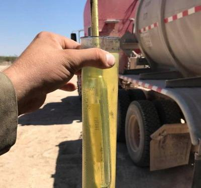 14 surprising and bizarre photos from oilfield workers reveal what crude oil actually looks like when it comes out of the ground