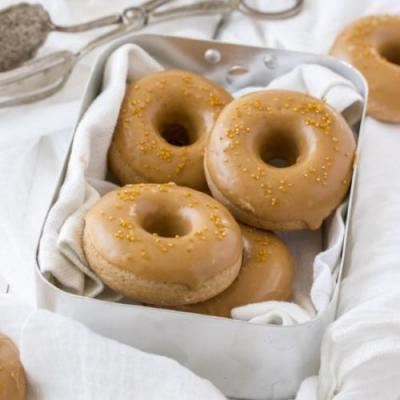 Cinnamon Baked Cake Donuts