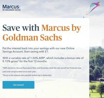 We tried Marcus, the new service that lets Brits bank with Goldman Sachs for as little as £1 - here's what we thought