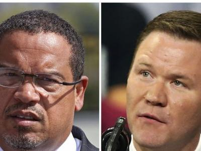 Embattled Ellison launches counterattack on GOP opponent