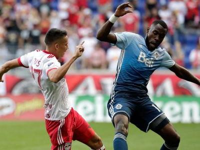 Whitecaps lose to Red Bulls, miss chance to clinch bye