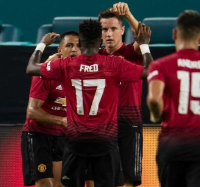 Manchester United 2 Real Madrid 1: Sanchez stars as Vinicius dazzles on debut