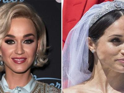 Katy Perry Has an Opinion on Meghan Markle's Wedding Dress - and It's Not Very Nice!