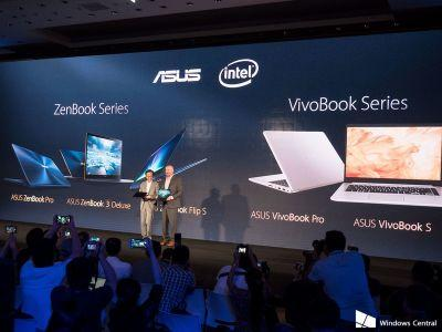 ASUS unveils new ZenBook and VivoBook laptops at Computex 2017