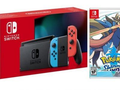 Get a Nintendo Switch with Pokémon Sword or Shield for £279