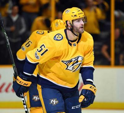 Predators forward Austin Watson suspended 27 games in domestic-violence case