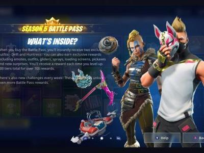 Fortnite Now Offers Motion Controls On Nintendo Switch With Season 5 Update