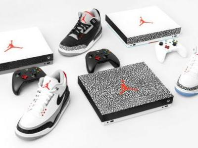 Air Jordan-themed Xbox One X is perfect for sneakerhead gamers