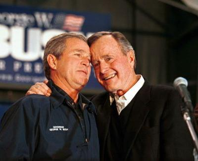 The Bush presidencies: How father and son approached the office differently