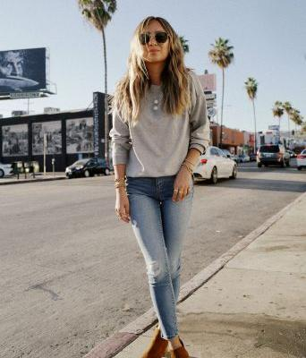 It's Officially Skinny Jean-and-Ankle Boot Season-Here's How to Style Them