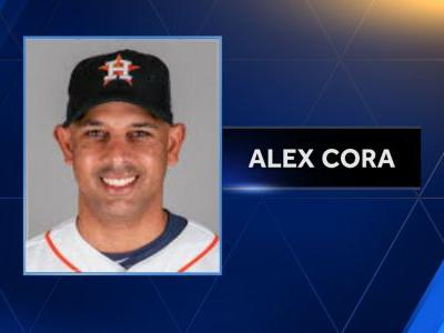 It's official! Alex Cora named new manager of Boston Red Sox