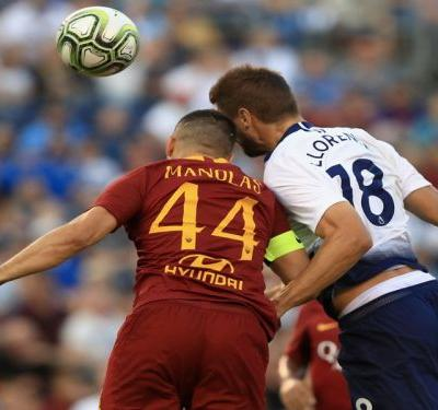 Roma 1 Tottenham 4: Llorente, Moura at the double for emphatic Spurs