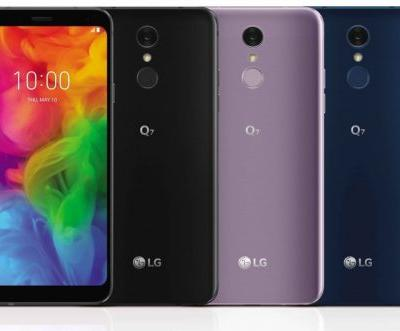 LG announces Q7 mid-range series with glass designs and slim bezels