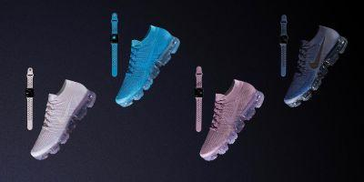 Nike launching colorful new Apple Watch Sport Bands alongside matching Air VaporMax Flyknit shoes