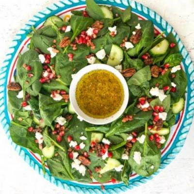 Easy Festive Low Carb Holiday Salad