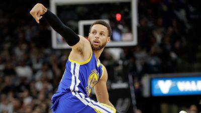 Warriors sweep Spurs; advance to NBA Finals for third-straight year