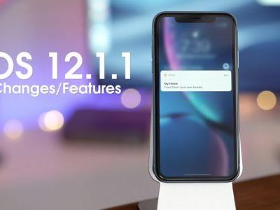 What's new in iOS 12.1.1?