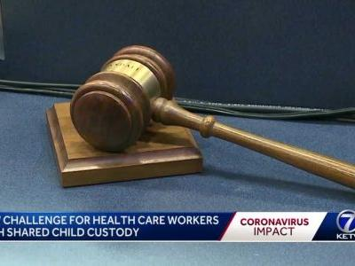 Healthcare workers face another challenge during coronavirus - dealing with shared child custody