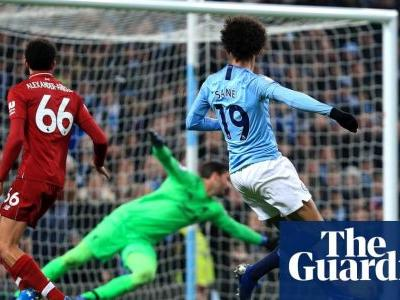 Manchester City's Leroy Sané reignites title race with winner against Liverpool