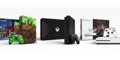 Microsoft unveils Xbox One X limited edition and Xbox One S bundles