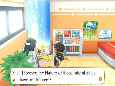 Pokemon Let's Go Fortune Teller guide: how to use the nature lady to influence Pokemon natures
