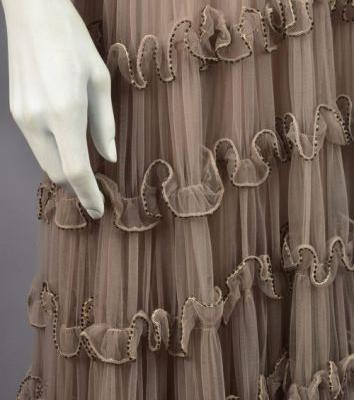 Up Close: Eta Hentz Evening Dress, c.1950