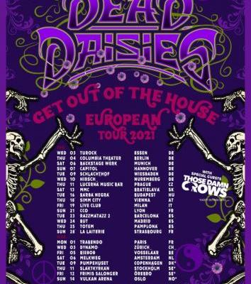 THE DEAD DAISIES To Kick Off 2021 With 'Get Out Of The House' European Tour