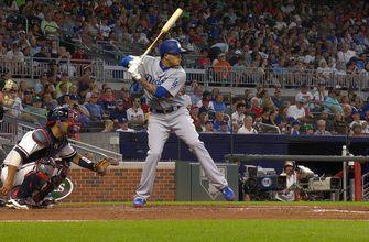 Manny Machado smokes line drive to left field for his first home run with the Dodgers