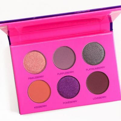 Coloured Raine Berry Cute Mini Eyeshadow Palette Review, Photos, Swatches
