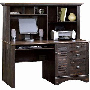 20 Elegant Home Computer Desk with Hutch Pictures
