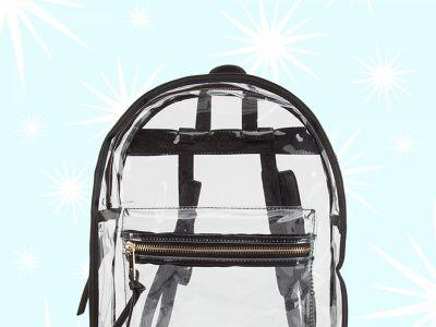 6 Clear Backpacks You Can Carry At The Women's March On Washington