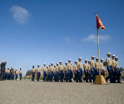 Hundreds of recruits get sick at Marine boot camp
