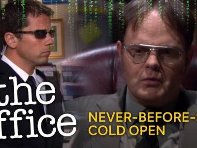 The Office Brings Dwight Into The Matrix in Never-Before-Seen Cold Open on Peacock