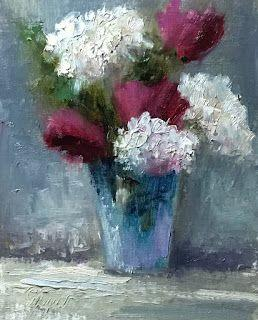 Abstract Flowers by artist Pat Meyer