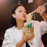 """31 Times Lana Condor Professed Her Love of Food on Instagram That Made Us Say, """"Same"""""""