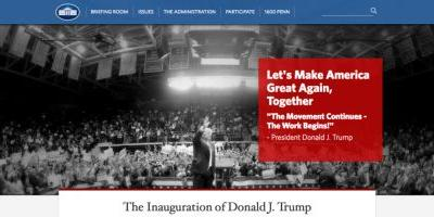 President Donald Trump Removes LGBT, Climate Change from White House Website