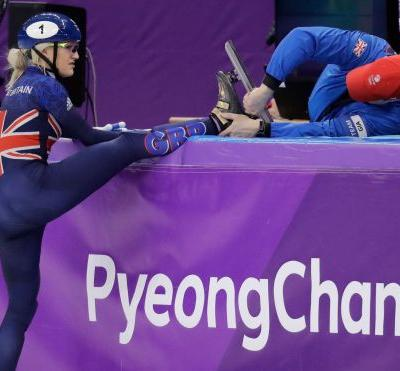Olympic curse weighs on Christie in short-track speedskating