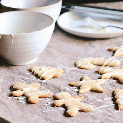 12 Days of Cookies: A Brown Table's Buckwheat and Oat Flour Christmas Cutout Cookies