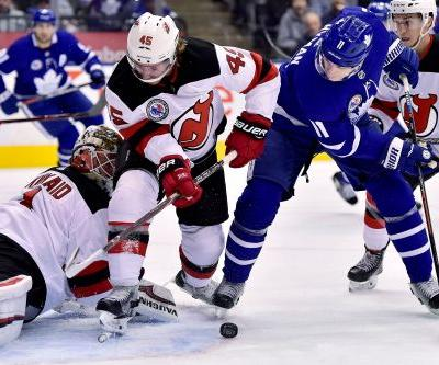 Maple Leafs beat Devils 6-1 in Hall of Fame Game