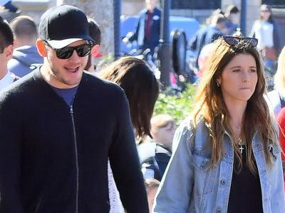 Chris Pratt and Katherine Schwarzenegger Spend A Fun Weekend At Disneyland With Chris' Son Jack