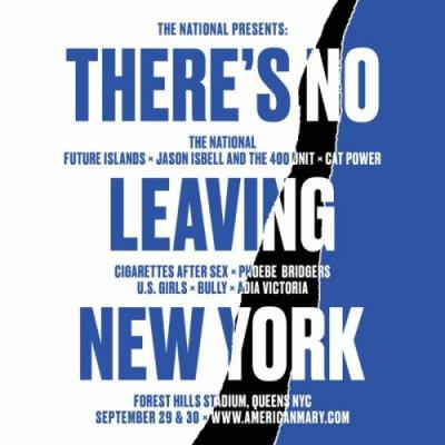 The National announce There's No Leaving New York Festival, featuring Future Islands, Cat Power, more